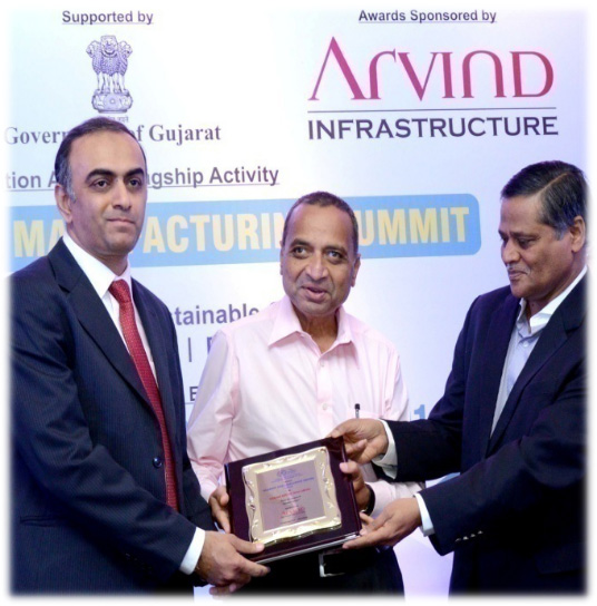Gujarat SME Excellence Award in Service sector (Feb, 2014)