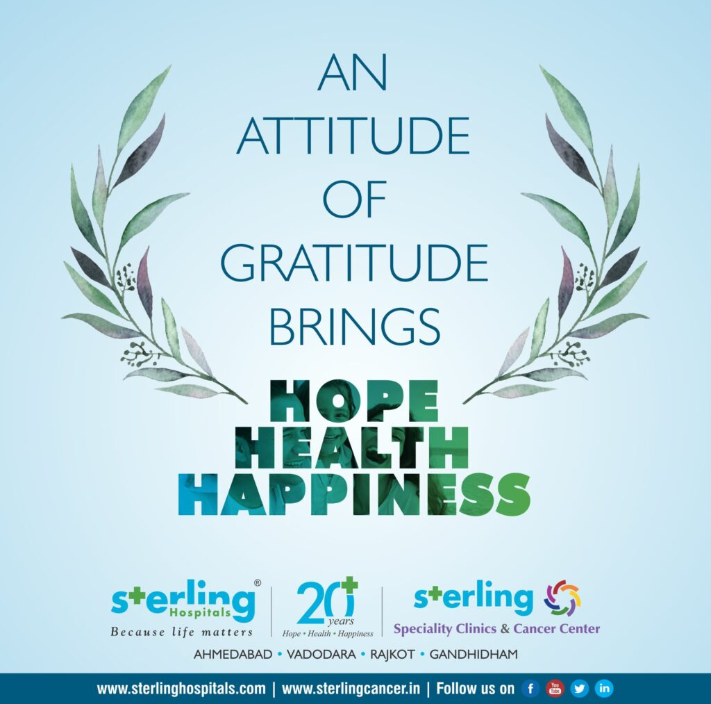 An Attitude of Gratitude Brings Hope Health Happiness