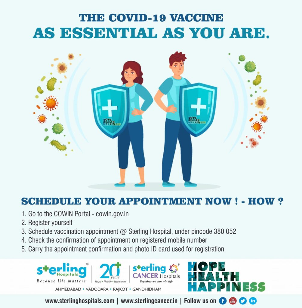 Covid-19 Vaccine – Schedule your appointment