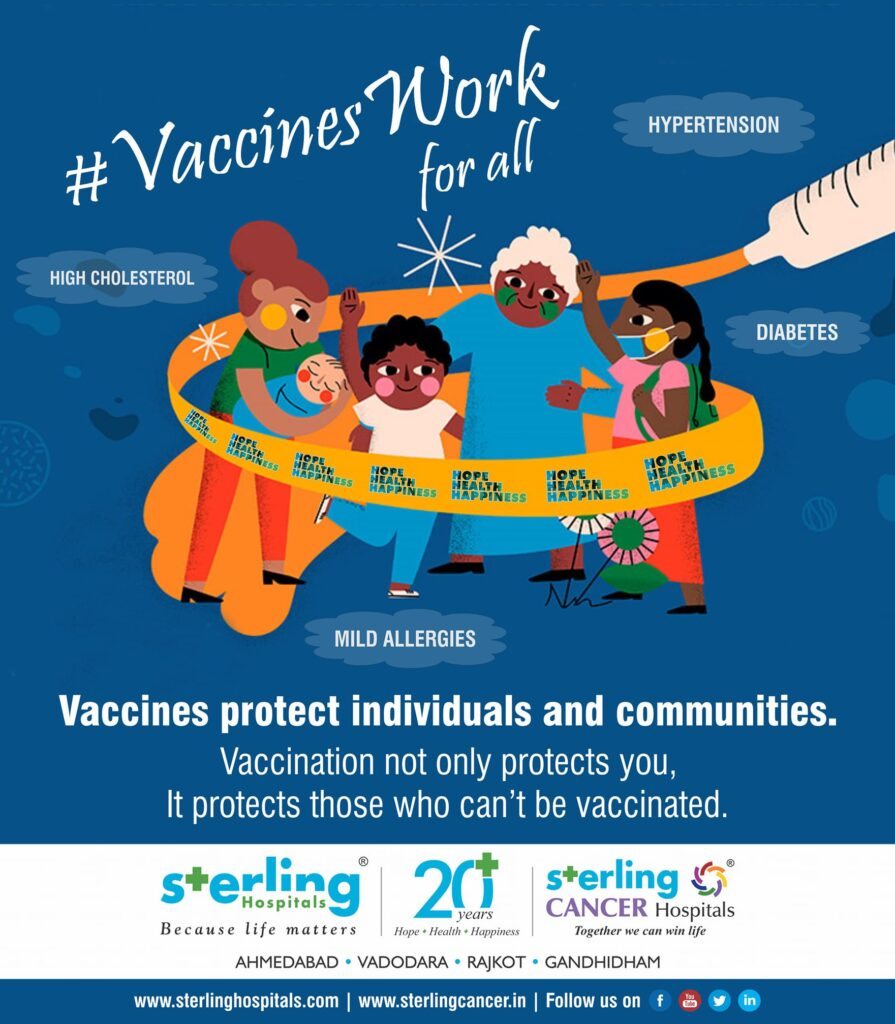 Vaccines work for all-Protect individuals and communities