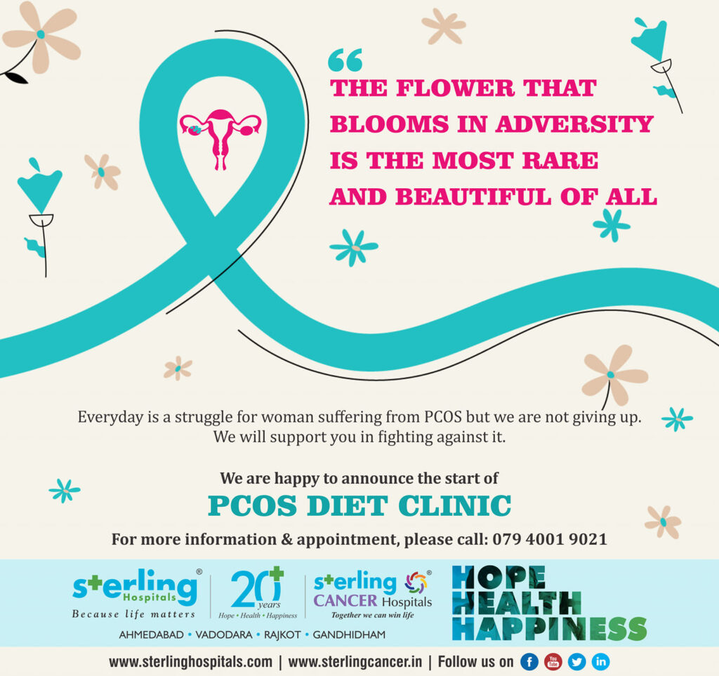 Announce the start of PCOS Diet Clinic