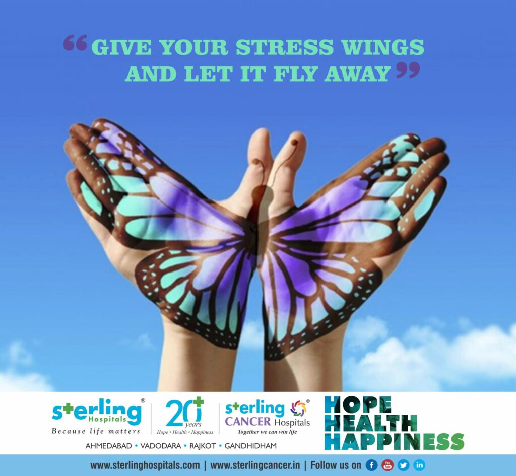 Give your stress wings and let it fly away