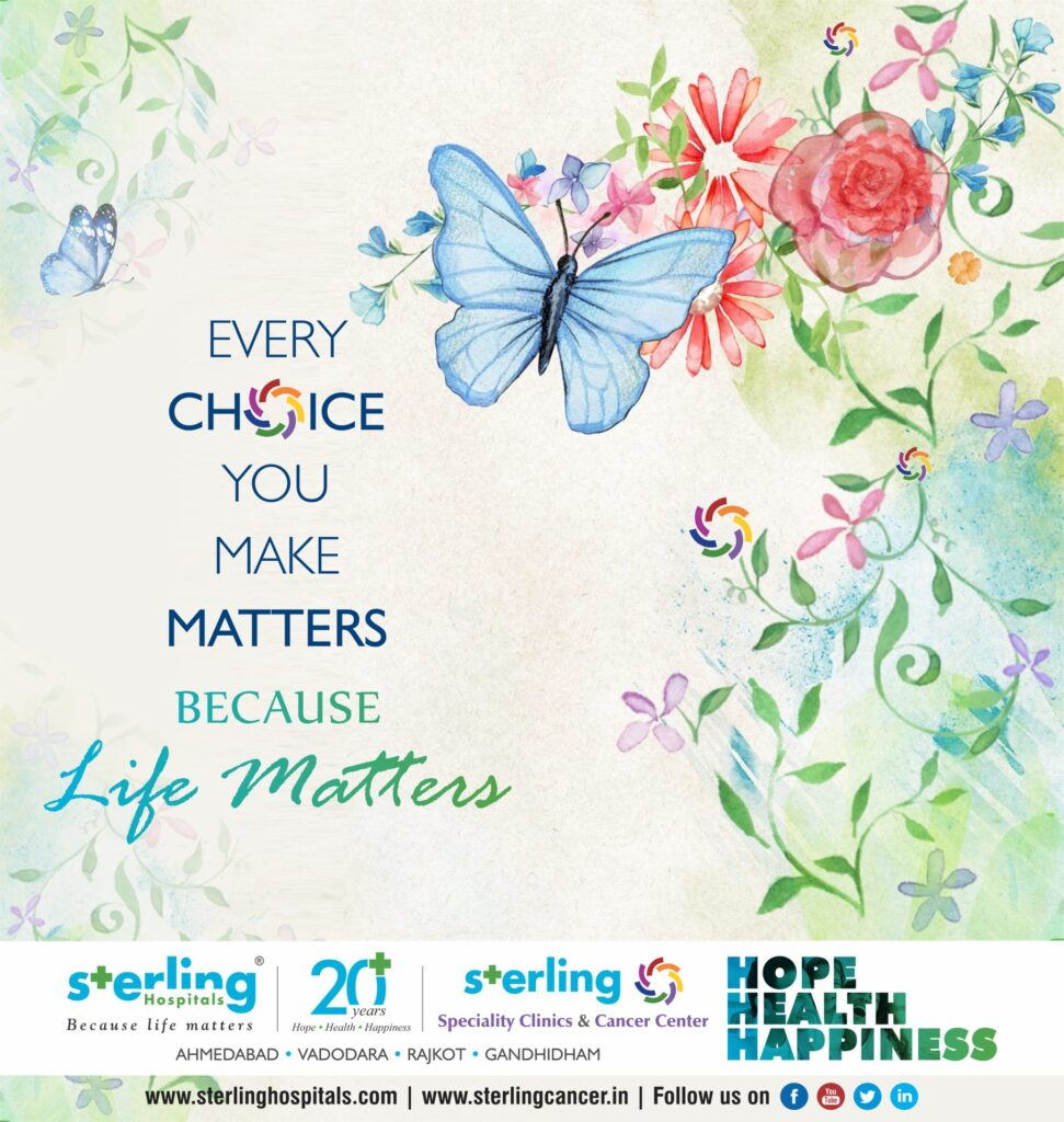 Every choice you make matters because life matters