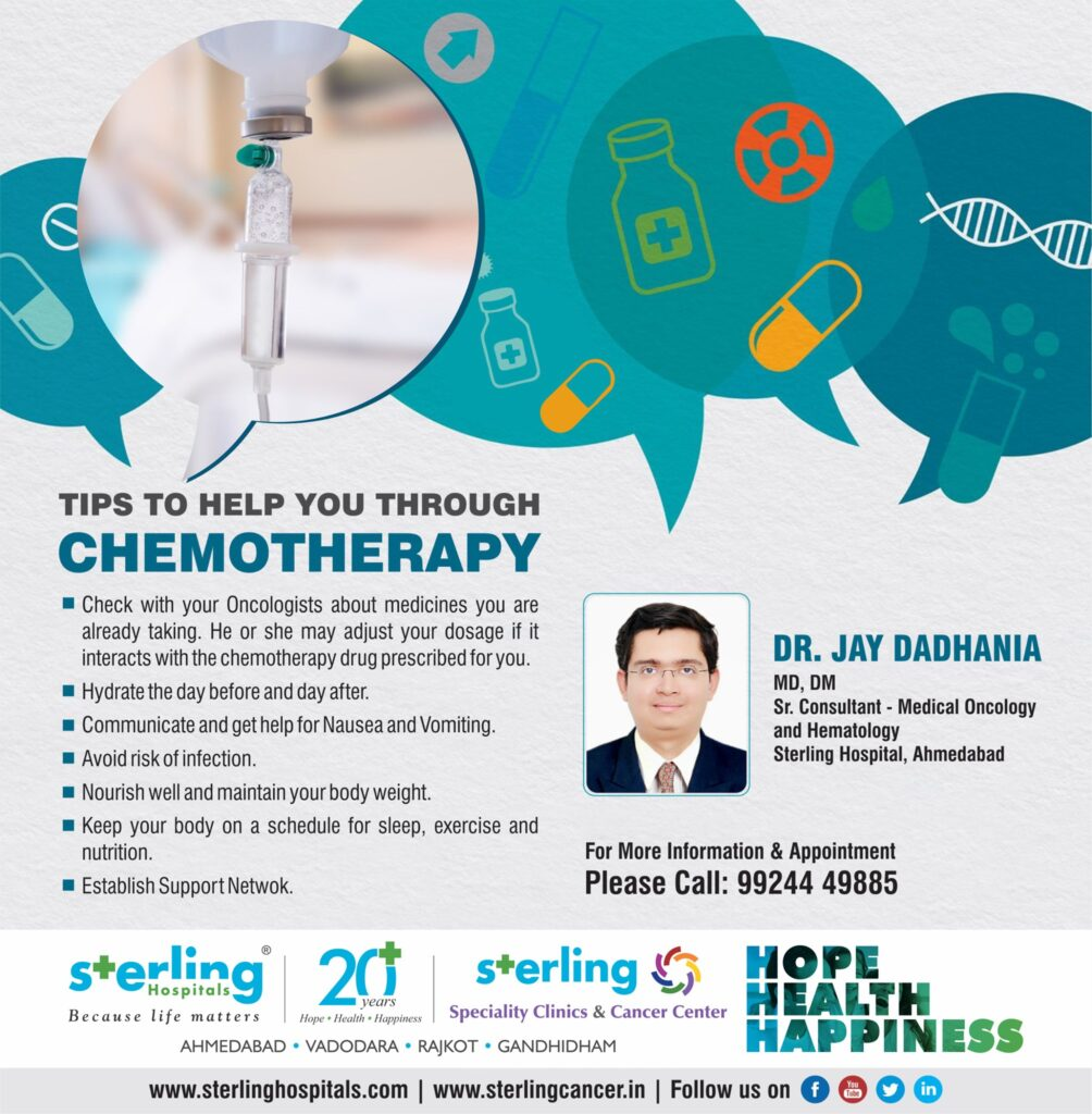 Tips to help you through Chemotherapy